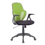 Chaise de bureau Basculant centré Realspace Tissu, résille Austin Vert