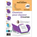 Pack 60 Smartfolder neutres - Office Depot