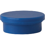 Aimants ronds Niceday 20 mm Bleu   10