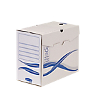 Boîtes d'archives A4 Fellowes 150 mm 25,5 (H) x 25 (l) cm Blanc et bleu   10