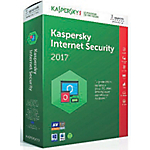 Logiciel Antivirus Kaspersky Internet Security 2017   1 an 3 postes