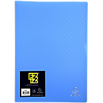 Protège documents soudé Exacompta FIZZ Polypro 30 A4 Bleu
