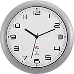 Horloge murale radio pilotée Alba 30cm Gris