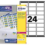 Étiquettes timbre Papier L7159 10 Blanc 240 étiquettes   240