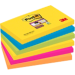 Notes adhésives Post it 76 x 76 mm - 6x 90 feuilles