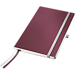 Cahier Leitz A5 Style 160 Pages Papier Rouge grenat