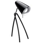 Lampe fluorescente de bureau E14 Alba Fluokid Noir