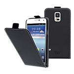 Etui à clapet pour Samsung Galaxy S5 T'nB Noir