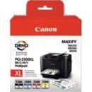 Pack de 4 PGI-2500XL Canon - Office depot