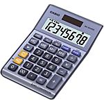 Calculatrice Casio MS80VER II 8 Chiffres  Gris