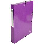Boîte de classement Exacompta 350 feuilles 59926E 33 (H) x 25 (l) cm Violet