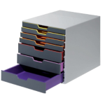 Module de classement Durable Varicolor A4+ 7 tiroirs