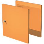 Portes Artexport 32,2 x 32,1 cm Orange