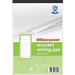 Bloc de bureau recyclé Office Depot A5+ BP084 70 g