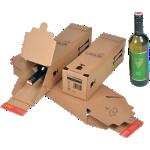 Boîte d'expédition Carton 74(L) mm 74(H) mm 305(P) mm Marron