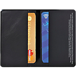 Étui protection pour cartes bancaires Exacompta Double 9,5 (H) x 12,5 (l) cm Noir