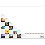 Sous main calendrier perpétuel Calendriers Bouchut Grandrémy Mosaïque 2017 38,5 (H) x 54 (l) cm Blanc
