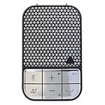 Kit mains libres Universel ZAGG Bluetooth Noir, Argent