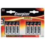 Piles alcalines Energizer Max LR AA