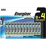 Piles Energizer Eco Advanced AAA 12