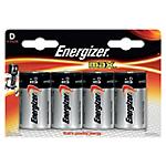 Pile Energizer Max D 4 Piles
