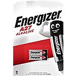 Pile Energizer Alcaline A27 2 Piles