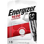 Pile bouton Energizer Lithium CR1620