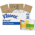 Essuie mains Kleenex Slimroll 1 épaisseur   2 Rouleaux