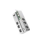 Multiprise 6 Prises APC Essential SurgeArrest PMH63VT FR Blanc