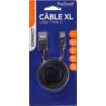 Câble KeyOuest micro USB type C