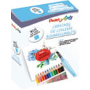 Box crayons de couleur aquarellables - Office depot
