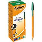 20 stylos à bille   Bic   Vert