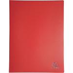 Protège documents soudé Exacompta Opaque Polypro 10 Pochettes A4 Rouge