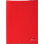 Protège documents soudé Exacompta Opaque Polypro 30 Pochettes A4 Rouge