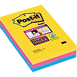Notes adhésives 3M Super Sticky 152 (H)  x  101 (l) mm 74 g
