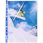 Pochettes perforées Exacompta Stop Doc® A4 Cristal   100