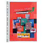 Pochettes perforées Exacompta A4 Maxi Transparent   10