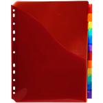 Intercalaires à pochettes Exacompta 4844E A4+ 6 couleurs   12
