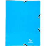 Classeur 2 anneaux Exacompta Iderama 20 mm A4 Bleu