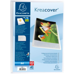 Protège documents Krea cover A4 Cristal Exacompta