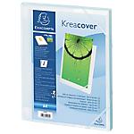 Boites de classement à élastique Exacompta Krea Cover A4 Blanc
