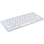 Clavier Sans fil MOBILITY LAB Pour iPhone, iPad, Mac Blanc Bluetooth