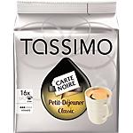 Capsules de café Petit dej Classic Tassimo CARTE NOIRE