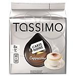 Capsules de café Cappucino Tassimo CARTE NOIRE
