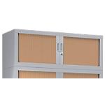 Rehausse armoire monobloc Acier Porte rideaux 44 (H) x 120 (l) x 43 (P) cm Pierre Henry