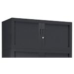 Rehausse armoire monobloc Acier Porte rideaux 44 (H) x 100 (l) x 43 (P) cm Pierre Henry 7016