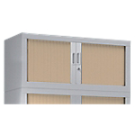 Rehausse armoire monobloc Acier Porte rideaux 44 (H) x 100 (l) x 43 (P) cm Pierre Henry