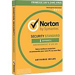 Logiciel Antivirus Symantec Norton Security 2016 Standard   1 an