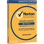 Logiciel Antivirus Symantec Norton Security 2016 Deluxe   1 an