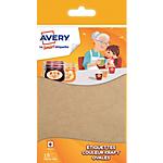 Etiquettes Avery Kraft 18 étiquettes